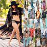 Women's Summer Bikini Cover Up Beachwear Maxi/Mini Dress Sarongs Kaftan Cardigan