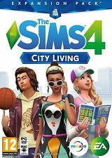 NEW & SEALED! The Sims 4 City Living Expansion Pack PC DVD Game