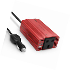BESTEK 300W Power Inverter DC 12V to AC 230V 240V Transformer Car Charger Lighte