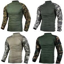 Mens Military Battle Combat Uniform Tactical Shirt -Heat Resistant -size XS -2XL