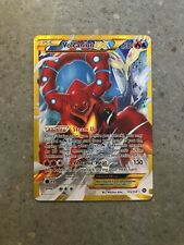 Pokemon TCG Volcanion EX 115/114 Steam Siege Secret Rare Holo Full Art NM-M