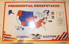 """Vintage 70's """"Presidential Sweepstakes"""" Board Game Age 10+ 2-6 Players NIP VHTF"""