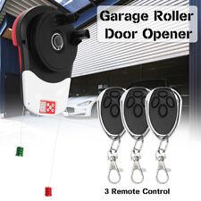 600N Auto Garage Rouleau Ouvre-porte moteur avec 3 télécommandes pour 16.5 m² zone