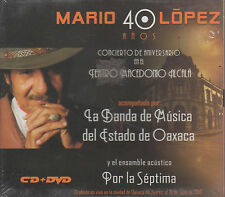 CD/DVD - Mario Lopez NEW 40 Anos Concierto De Aniversario FAST SHIPPING !