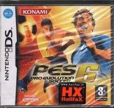 Pro Evolution Soccer 6 PES 6 Videogioco Nintendi DS NDS Sigillato 4012927081815