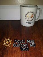 US Naval Construction Battalion Maint Seabee coffee Mug Cup GULFPORT Missippi