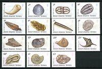 Brit. Antarktis Gebiete MiNr. 156-70 postfrisch MNH Fossilien (ARK33