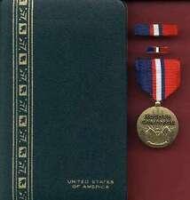 US Kosovo Campaign Award medal with ribbon bar and lapel pin cased set