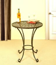 1217 - Metal Accent Table