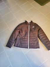 The North Face Women's Mossbud Insulated Reversible Jacket BROWN Size MEDIUM