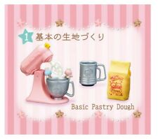 RE-MENT Little Twin Stars Kitchen,#1-Basic Pastry Dough,1:6 for Barbie food mini