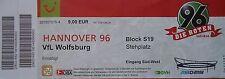 TICKET 2006/07 Hannover 96 - VfL Wolfsburg