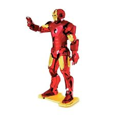 Iron Man: Metal Earth 3D Laser Cut Miniature Marvel Avengers Model Kit 3 sheets