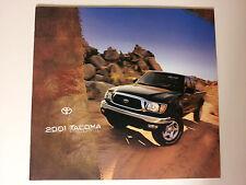 2001 Toyota Tacoma Pickup Truck Dealership Showroom Sales Brochure - Must See!!