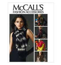 Sew & Make McCall's M6666 SEWING PATTERN - Womens FASHION SCARVES NECK WRAPS osz