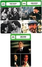 FICHE CINEMA x3 : JAMES MASON DE 1935 A 1985 -  Grande-Bretagne (Bio/Filmo)