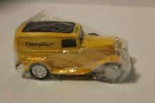 ERTL CATERPILLAR 1932 FORD DELIVERY PANEL VAN 1/24 SCALE  COIN BANK NIB