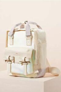 Anthropologie DOUGHNUT Ribbon Mini Backpack Bag Purple Unicorn NEW