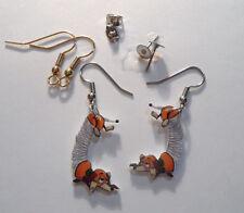 Dachshund Dog Earrings Slinky Dog Toy Story Charms