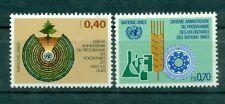 Nations Unies Géneve 1981 - Michel n. 101/02 -  Programme des Volontaires des Na