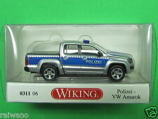 1:87 Wiking 031106 Polizei VW Amarok Blitzversand per DHL-Paket