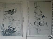 2 Arthur Watts Cartoons 1912-13