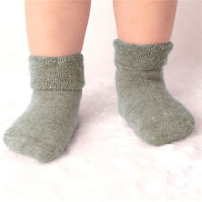 Baby Girl Boy Newborn Winter Warm Boots Toddler Infant Soft Socks Booties Shoe F