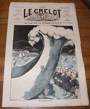 Le Grelot Journal Satirique N°116 Actualités Par Alfred le Petit du 29 juin 1873