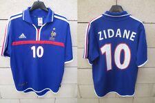 Maillot Equipe de FRANCE Adidas ZIDANE n°10 EURO 2000 camiseta shirt vintage S