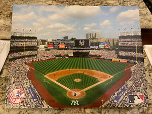 Yankee Stadium Canvas Print/Measures 18x14 Inches MLB Official