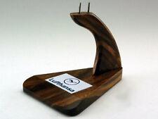 Mahogany Wood Kiln Dried Solid Wooden Airplane Desktop Display Stand base