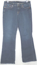 "LUCKY BRAND sz 6/28 ""SWEET N' LOW"" ZIPPER FLY BLUE JEANS meas 28""x 29"" (#362-4)"
