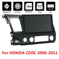 "10.1"" Touch Screen Android 9.1 Stereo Radio GPS Navigation For Honda Civic 06-11"