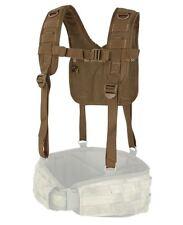 CONDOR MOLLE Modular Nylon 215-498  H-Harness Suspenders for Battle Belt BROWN