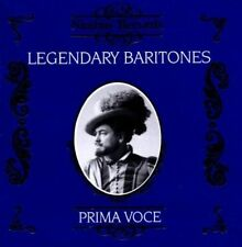NEW Legendary Baritones (Audio CD)