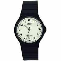 Casio Mens Gents Analogue Black Strap Sports Watch MQ-24-7BLL Xmas Gift For Him