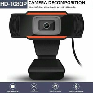 Wide angle USB Webcam Camera with mic for HP Dell Toshiba sony Acer computer PC