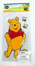 New Large WINNIE the Pooh Plushy 3-D Fabric-Like STICKER by SandyLion +Bees+Hive