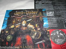 LORD VADER goliath LP ltd. first 100 Red Vinyl Karthago Rec. 2001 Insert METAL