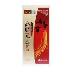 50Pcs Korean Ginseng Tea Extract Root Bag 3g Anti Stress Fatigue Herb Diet