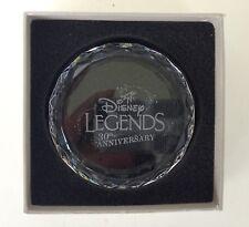 Disney Legends 30th Anniversary Glass Paperweight D23