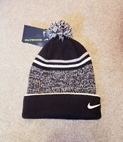 NEW Nike Men's Sportswear Removable Pom Knit 2-in-1 Beanie Hat New with Tag
