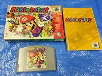 Authentic Nintendo 64 Mario Party 1 Complete Game in Box N64