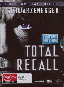 Total Recall - Action / Arnold Schwarzenegger - NEW DVD