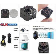 Sq8 Metal Cube Mini Clip on Night Vision Video Camera Full HD 1080p DVR Recorder