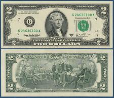 USA 2 Dollars 2003A UNC (G Chicago)  P. 516 b