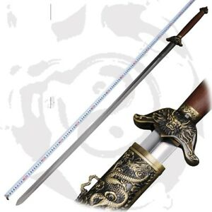 QIAN KUN Stainless Steel blade Trigrams Tai-chi KUNG-FU Martial Arts Sword# 4640