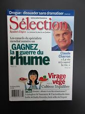 "Selection Reader's Digest Magazine October 2001 Neuf  ""Gagnez la Guerre du Rhume"