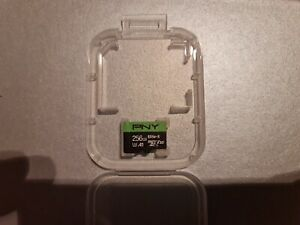 PNY Elite-X microSD 256GB, U3, V30, A1, Class 10, up to 100MB/s