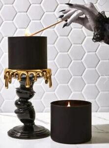 2021 Bath & Body Works Candle Holder Melting Pillar Stick Drips Halloween Wonky